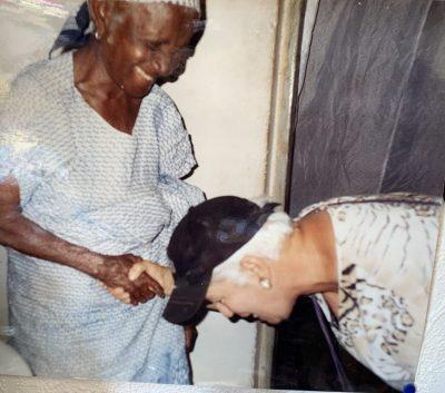 Grandma Lydia Clottey / Großmutter Gabriele Gran